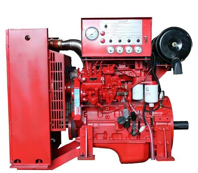 Diesel Fire Pump Set By Cummins Technology Cap 750 GPM Head 110